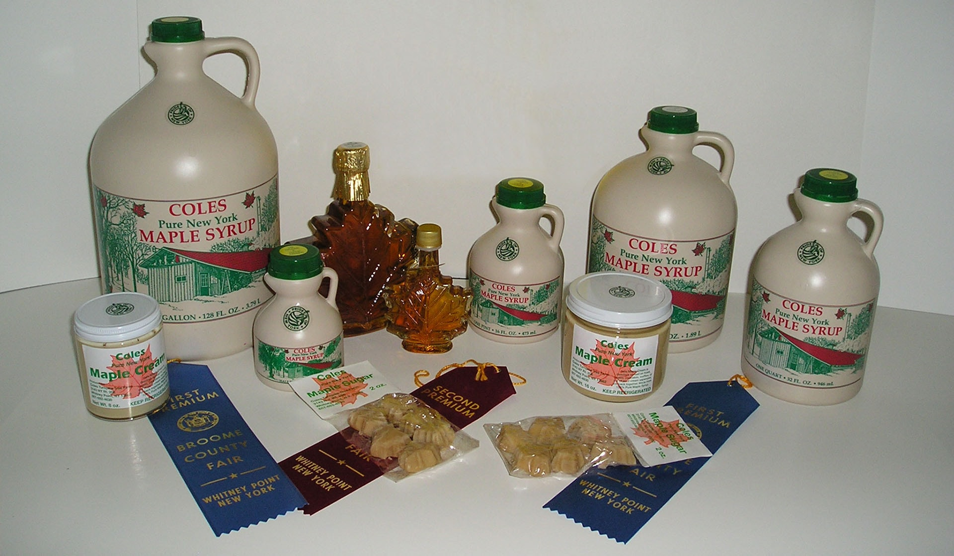 maple products display